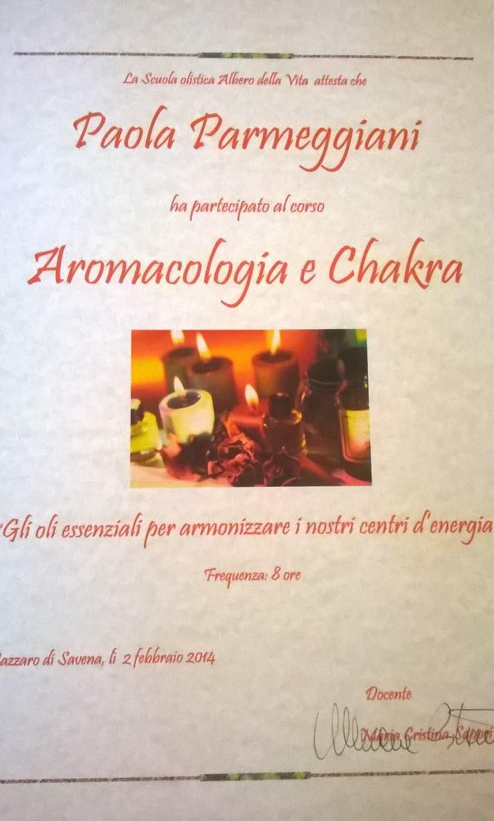 Aromacologia e Chakra