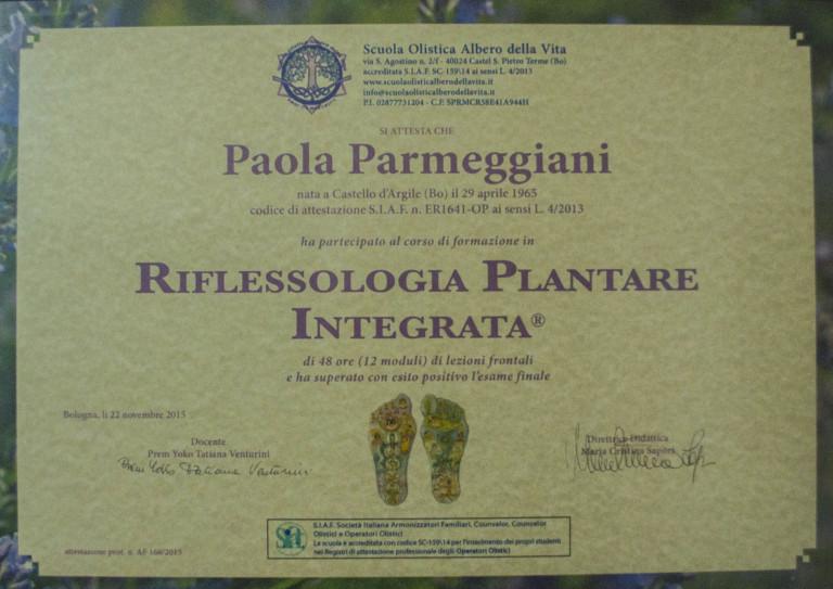 Riflessologia plantare integrata
