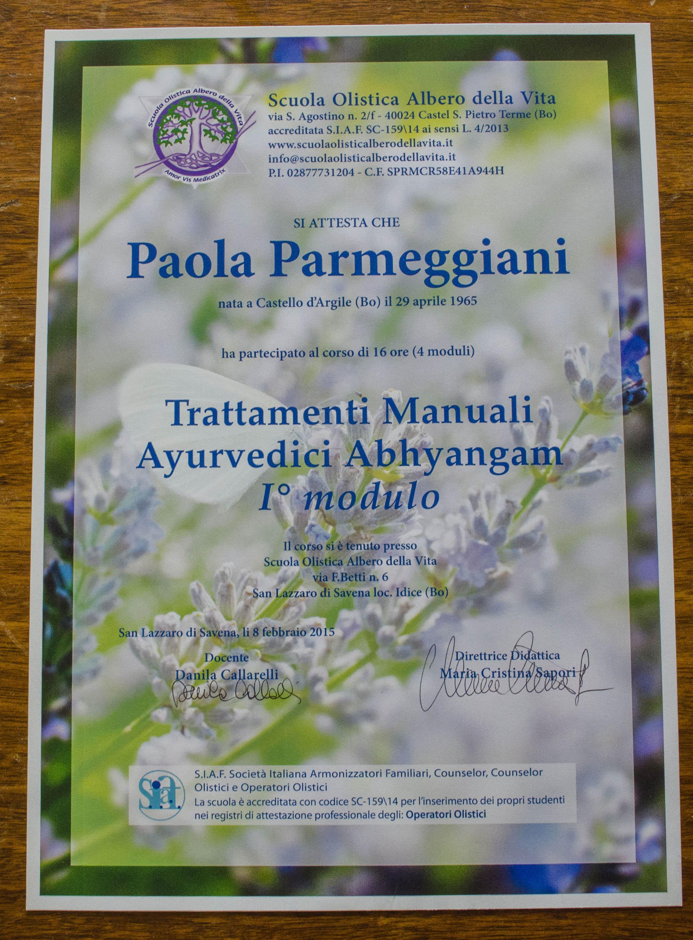Trattamenti manuali Ayurvedici Abyangan